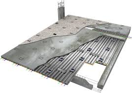 Arrow Floor Frame Kit by Hh Robertson Cellcast In Floor Cable Distribution System For