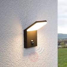 outdoor wall light lighting with gfci outlet mount led