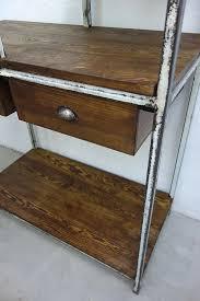 vintage industrial loft werkbank regal kommode schrank