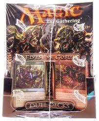 Mtg Revised Starter Deck Contents by Magic The Gathering Elves Vs Goblins Duel Deck Box 6 Decks Da