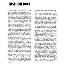 Newspaper Fashion Articles Text 1 On Discover The Best Trending