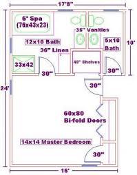 Master Bedroom Floor Plans With Bathroom