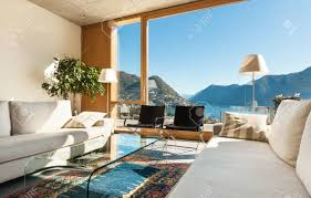 100 Modern House Interiors Beautiful In Cement View From The Living