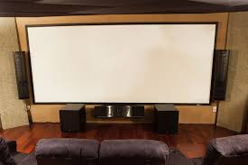 Drop Ceiling Mount Projector Screen by 120