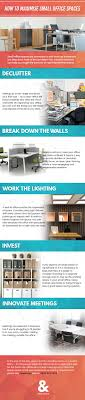 Infographic How To Maximise Small Office Spaces