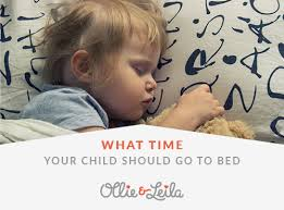 O&L What Time Should Your Child Go to Bed
