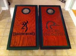 Hunters Set Browing And Ducks Unlimited • Cornhole Players