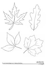 autumn leaves colouring page 460 0