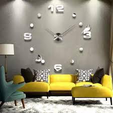 möbel wohnen designer wanduhr wohnzimmer wandtattoo design