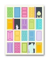 Best 25 Monsters inc doors ideas on Pinterest