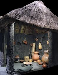 Pic 1 The Inside Of A Reconstructed Aztec House