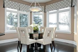 Bay Window Valances Dining Room Contemporary With Black And White Image By Developments Ltd Modern For