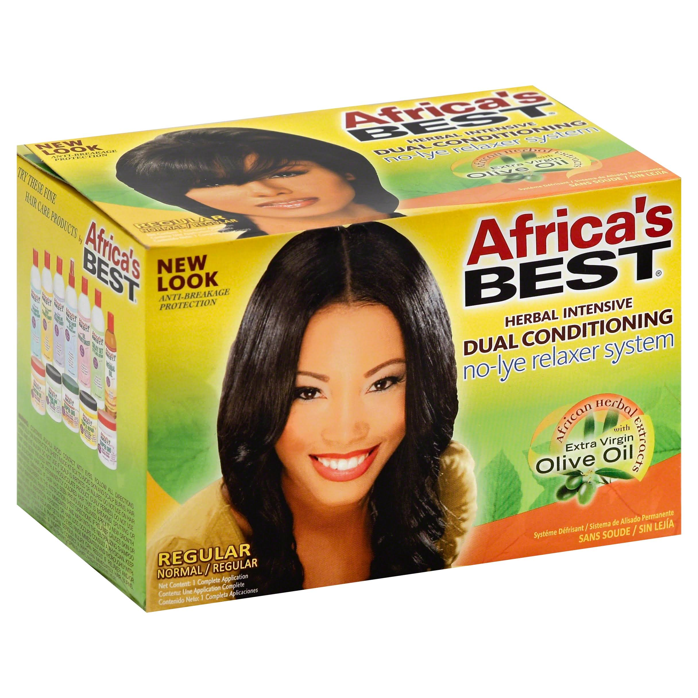 Africa's Best Conditioning Relaxer System - Regular