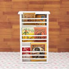 odoria 1 12 miniatur zeitung magazin rack buch regal schrank holz puppenhaus möbel zubehör wohnzimmer restaurant