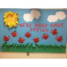 Spring Classroom Door Decorations Pinterest by Best 25 Spring Bulletin Boards Ideas On Pinterest Spring