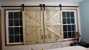 Barn Door Headboard Window Covers - YouTube Urban Woodcraft Interior Barn Door Reviews Wayfair Doors Tv Custom Sized And Finished Www Gracie Oaks Cleveland 60 Stand Farmhouse Woodwaves 50 Ways To Use Sliding In Your Home 27 Awesome Ideas For The Homelovr Remodelaholic 95 To Hide Or Decorate Around Custom Made Reclaimed Wood By Heirloom Llc Headboard Window Covers Youtube 9 You Can Southern California Double Closet