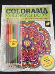 Colorama Coloring Book Is A New Product Out On The Market Featuring Everything From Mandalas And Paisley Patterns To Flower Bouquets Butterflies