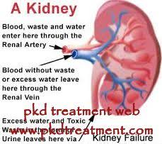 how is the condition with creatinine 1 8 and blood urea 119 here