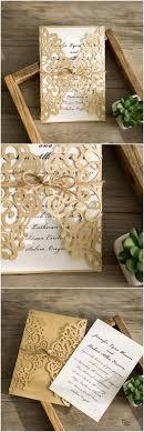 d lacer en cuisine laser cut wedding invitation gold foil wedding invite lace wedding