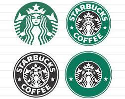Starbucks Logo SVG Files DXF Cutting