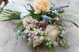Rustic Posy Bridal Bouquet