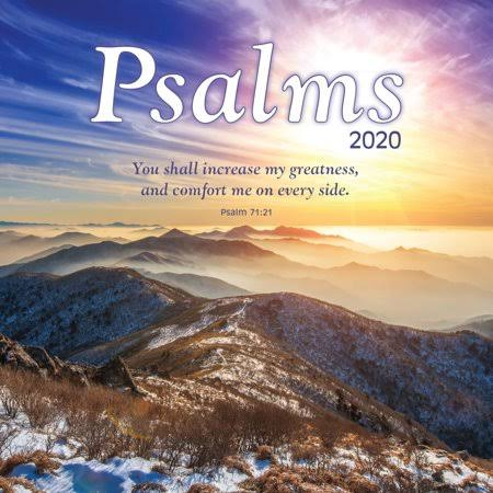 Turner Licensing Psalms 2020 Mini Wall Calendar
