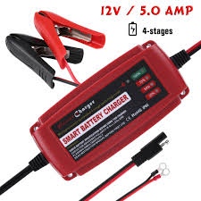 12V 5A Smart Automatic Battery Charger Maintainer For Car Motorcycle ... Motorcycle Car Auto Truck Battery Tender Mtainer Charger 110v 5a Sumacher Extender 6volt Or 12volt 15 Amp Sealey Autocharge6s Vehicle 6v 12v 12v 10a Smart Automatic Electric Lead Acid Lcd 2a Sealed Rechargeable Fifth Gear Compact Portable 6 For Cars Vans 24v Charger With Charge Current Indicator 20a Boat Caravan 4wd Solar Es2500 Economy 12 Volt Booster Pac Es2500ke Soles2500ke Motor Suaoki 4 612v Fully Accsories Automotive Diy All Game