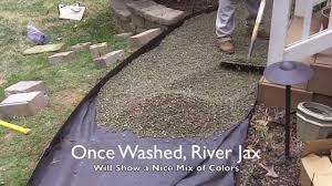 Installing A River Rock Walking Path - YouTube Landscaping Diyfilling Blank Areas With Gravelmake Your Backyard Exteriors Amazing Gravel Flower Bed Ideas Rock Patio Designs How To Lay A Pathway Howtos Diy Best 25 Patio Ideas On Pinterest With Gravel Timelapse Garden Landscaping Turf In 3mins Youtube Repurpose And Upcycle Simple Fire Pit Pea 6 Pits You Can Make In Day Redfin Crushed Honeycomb Build Brick Paver Landscape Sunset Makeover Pea Red Cottage Chronicles