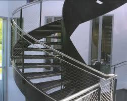 filet de protection pour escalier 6 garde corps mezzanine