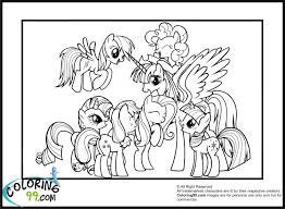 My Little Pony Coloring Book Games 8