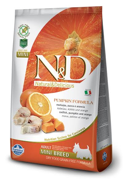 Farmina N&D Grain Free Adult Fish and Orange 7 kg