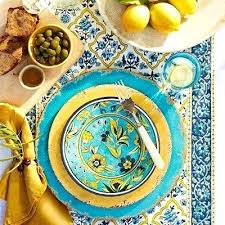 Melamine Italian Dinnerware Rustic Southwest Style Sets Target Kitchen