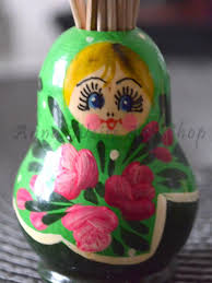 100 Matryoshka Kitchen Stand For Toothpicks Russian Souvenir Wooden Toy Mother Grandma Gift Idea Device For Kitchen Interior Home Decor Etchnic Art