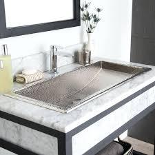 Double Sink Vanity Top 48 by Sinks Trough Bath Vanity 48 Sink Top Bathroom Double Sinks