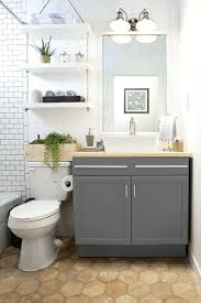 Above Toilet Storage Ideas Small Bathroom Design Over The