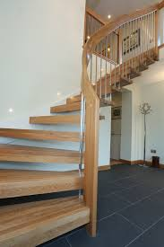 Modern Timber Staircase - Newmachar, AberdeenshireTimber Stair Systems Elegant Glass Stair Railing Home Design Picture Of Stairs Loversiq Staircasedesign Staircases Stairs Staircase Stair Classy Wooden Floors And Step Added Staircase Banister As Glassprosca Residential Custom Railings 15 Best Stairboxcom Staircases Images On Pinterest Banisters Inspiration Cheshire Mouldings Marble With Chrome Banisters In Modern Spanish Villa Looking Up At An Art Deco Ornate Fusion Parts Spindles Handrails Panels Jackson The 25 Railing Design Ideas