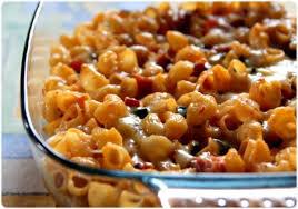 gratin de coquillettes aux légumes et aux lardons recette