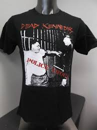 100 Police Truck Dead Kennedys Mens Licensed Shirt New S M L XL