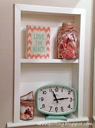 Beach Hut Themed Bathroom Accessories by Ahhh Quilting Beach Huts Wall Hanging