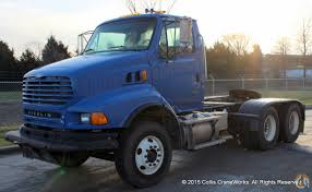100 Collis Truck Parts Used 2008 Sterling L9500 Tractor Semi Trailers STERLING