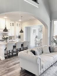 Best Floor For Kitchen And Dining Room by Best 25 Kitchen Open To Living Room Ideas On Pinterest Half
