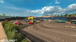 100 Uk Truck Simulator SKM UK Extended Map 117x Mod For ETS 2