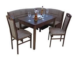 eckbankgruppe mit ausziehbarem tisch 2 stühlen und einer bank hessie