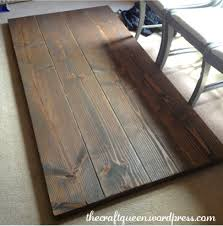 14 Made From Scratch DIY Rustic Dining Table The Craft Queen