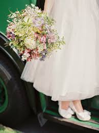 Rustic Wedding At Shustoke Farm Barn With Floral Bridesmaid Dresses
