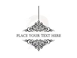 Victorian Chandelier Frames Black Antique Ornate Frame Clip Art 10461 Akcvm8 Clipart