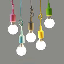 Kreatif Lampu Liontin Antik Edison Droplight Gantung Diy Colourful Dekorasi Rumah Pencahayaan