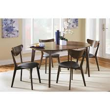 Mid-century Modern Casual Solid Wood Dining Table