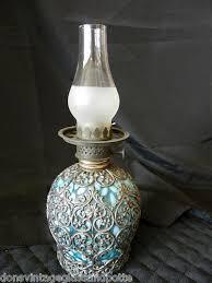 Ebay Antique Lamps Vintage by 63 Best Vintage Mini Oil Lamp Images On Pinterest Kerosene Lamp