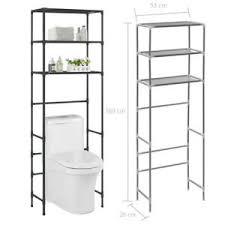 details zu toilettenregal waschmaschinenregal badezimmer bad regal wc standregal 3 ablagen